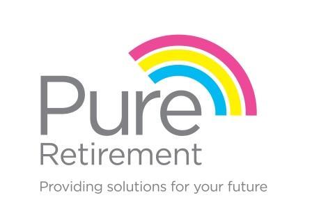 pure retirement logo