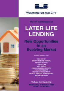 The 4th LATER LIFE LENDING CONFERENCE